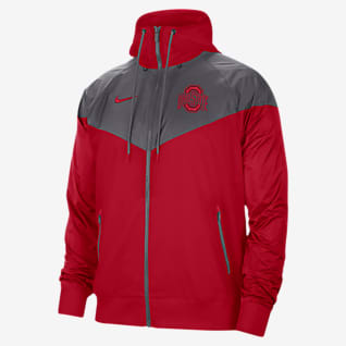 Nike College (Ohio State) Windrunner para hombre