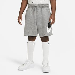 Nike Sportswear Club Shorts para niños talla grande (talla extendida)