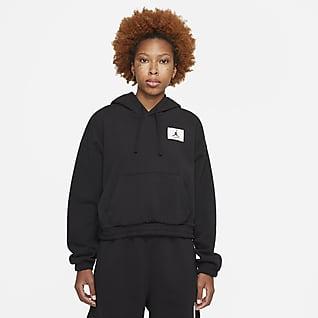 Jordan Essentials เสื้อมีฮู้ดผ้าฟลีซผู้หญิง