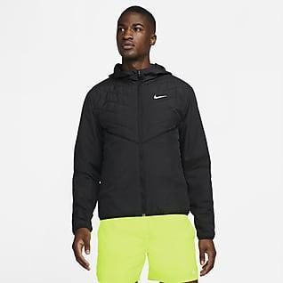 Nike Therma-FIT Repel Мужская беговая куртка с синтетическим наполнителем