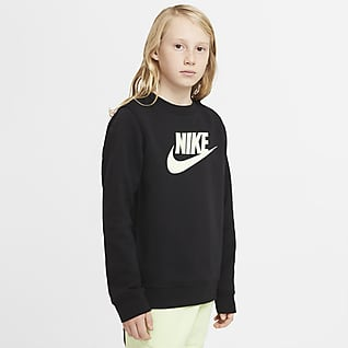 Nike Sportswear Club Fleece Mikina skulatým výstřihem pro větší děti (chlapce)