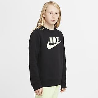 Nike Sportswear Club Fleece Genç Çocuk (Erkek) Crew Üst