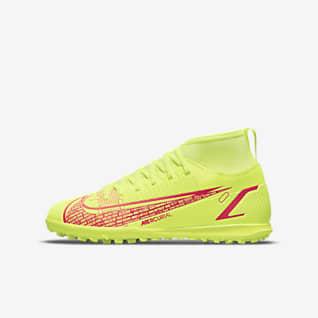 Nike Jr. Mercurial Superfly 8 Club TF Botes de futbol per a terreny artificial i moqueta-turf - Nen/a i nen/a petit/a