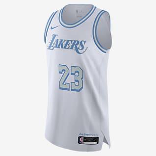 Los Angeles Lakers City Edition Nike NBA Authentic Trikot