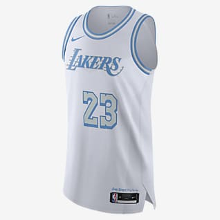 Los Angeles Lakers City Edition Maillot Nike NBA Authentic