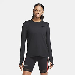 Nike Dri-FIT Γυναικείο crew για τρέξιμο