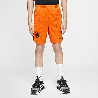 Домашняя форма сборной Нидерландов 2020 Stadium Футбольные шорты для школьников
