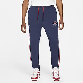 Paris Saint-Germain Męskie spodnie z dzianiny