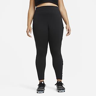 Nike Air Yüksek Belli Kadın Taytı (Büyük Beden)