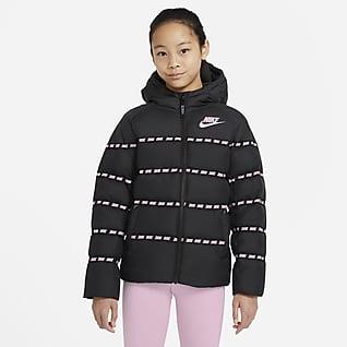 Nike Sportswear Chamarra con relleno de plumas para niños talla grande