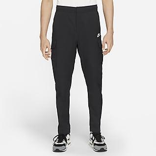 Nike Sportswear Calças utilitárias tipo cargo sem forro para homem
