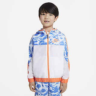 Nike Little Kids' Woven Full-Zip Jacket