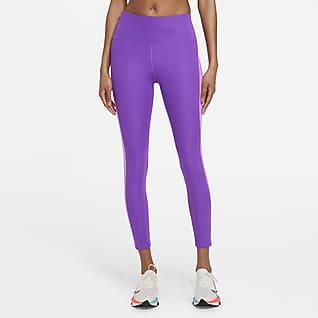 Nike Epic Fast Leggings de running de 7/8 de tiro medio para mujer