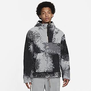 Nike Sportswear Sport Essentials+ Sudadera con gorro de medio cierre para hombre