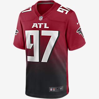 NFL Atlanta Falcons (Grady Jarrett) Camiseta de fútbol americano Game para hombre