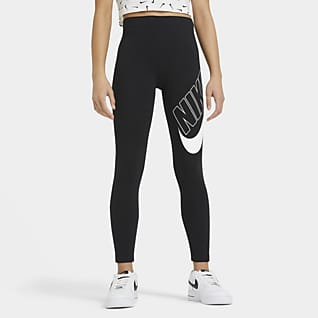 Nike Sportswear Favorites Older Kids' (Girls') Graphic Leggings