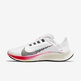 Nike Air Zoom Pegasus 38 FlyEase Women's Easy On/Off Road Running Shoe (Wide)