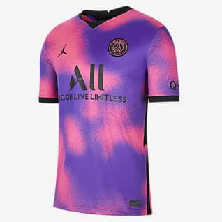 Paris Saint-Germain 2020/21 Stadium (wersja czwarta) Męska koszulka piłkarska