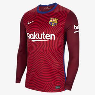 F.C. Barcelona 2020/21 Stadium Goalkeeper Men's Football Shirt
