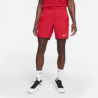 NikeCourt Dri-FIT Victory Calções de ténis de 18 cm para homem
