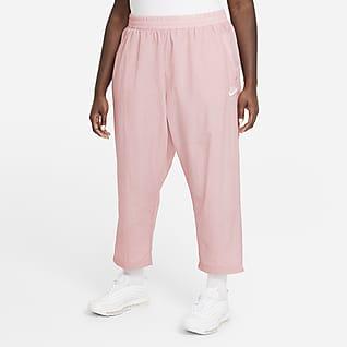 Nike Air Damskie spodnie z tkaniny (duże rozmiary)