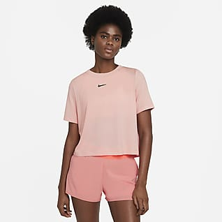 NikeCourt Advantage Top da tennis a manica corta - Donna