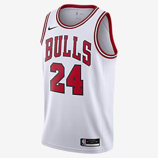 Lauri Markkanen Bulls Association Edition 2020 Nike NBA Swingman-drakt