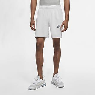 Nike Sportswear Herenshorts van sweatstof