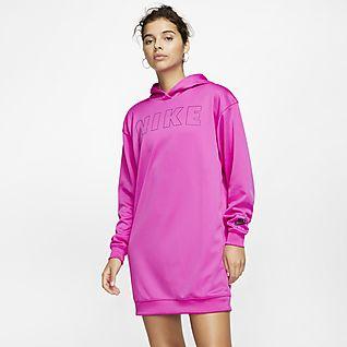 Nike Air Hoodie-Kleid für Damen