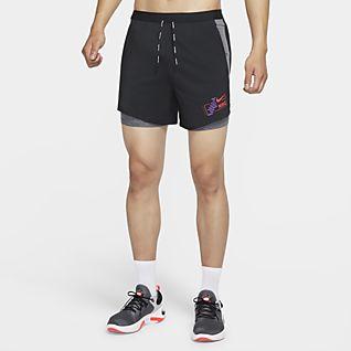 Nike Flex Stride Future Fast กางเกงวิ่งขาสั้น 2-in-1 ผู้ชาย