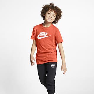 Nike Sportswear Хлопковая футболка для школьников