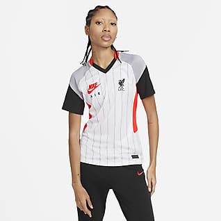 Liverpool FC Stadium Air Max Camiseta de fútbol para mujer