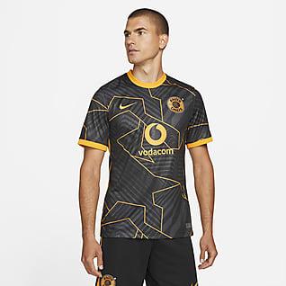 Kaizer Chiefs F.C. 2021/22 Stadium Uit Nike voetbalshirt met Dri-FIT voor heren