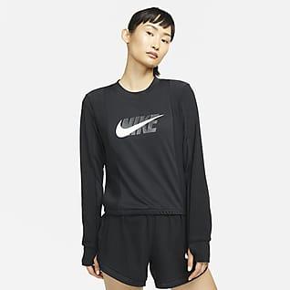 Nike Dri-FIT Icon Clash 女款跑步中層上衣