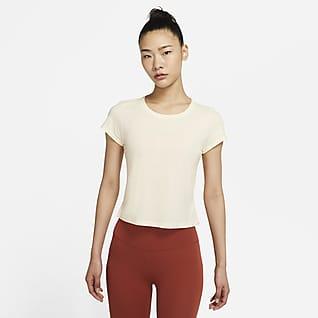 Nike Yoga Dri-FIT 女子短袖上衣
