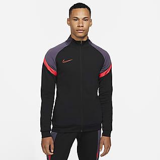 Nike Dri-FIT Academy Chamarra de entrenamiento de fútbol tejida para hombre