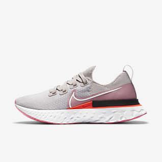 Nike React Infinity Run Flyknit Hardloopschoen voor dames