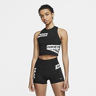 Nike Pro Canotta con grafica - Donna