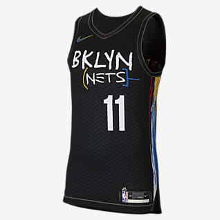 Brooklyn Nets City Edition Джерси Nike НБА Authentic