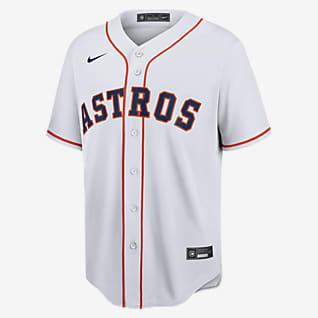 MLB Houston Astros (Justin Verlander) Men's Replica Baseball Jersey