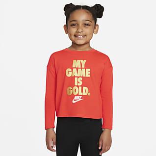 Nike Prenda para la parte superior de manga larga para niño talla pequeña