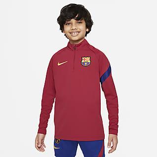 FC Barcelona Academy Pro Nike Dri-FIT Genç Çocuk Futbol Antrenman Üstü