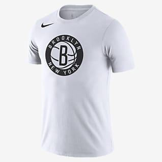 Brooklyn Nets Nike Dri-FIT NBA-T-Shirt mit Logo für Herren