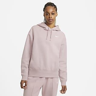 Nike Sportswear Sudadera con capucha de tejido Fleece para mujer