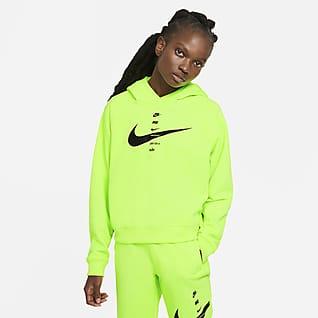 Nike Sportswear Swoosh Felpa con cappuccio - Donna