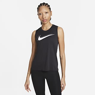 Nike Dri-FIT Swoosh Run Hardlooptanktop voor dames