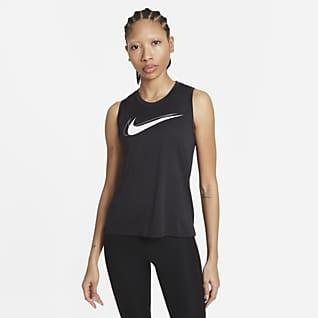 Nike Dri-FIT Swoosh Run Lauf-Tanktop für Damen