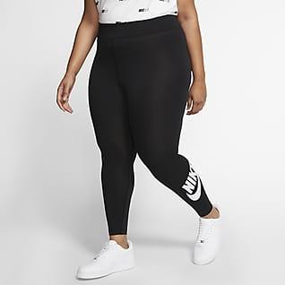 Nike Sportswear Leg-A-See Γυναικείο ψηλόμεσο κολάν (μεγάλα μεγέθη)