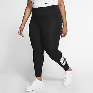 Nike Sportswear Leg-A-See Leggings de cintura subida para mulher (tamanhos grandes)
