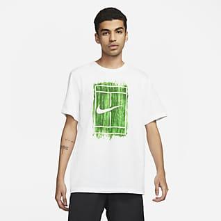 NikeCourt Мужская теннисная футболка с графикой